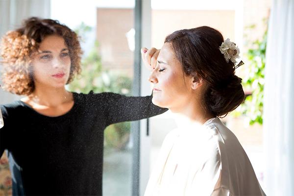 Maquilladora especializada en novias Murcia